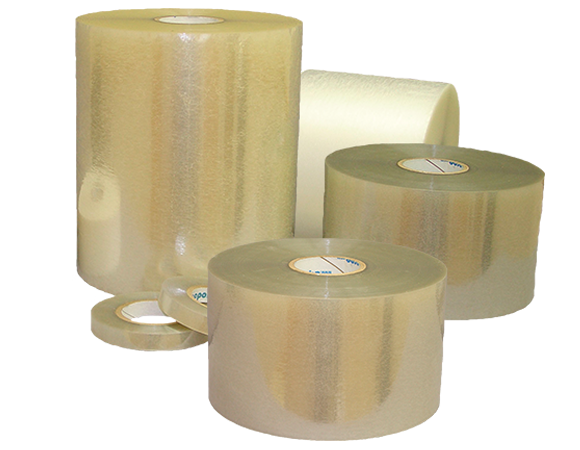 Self-Wound Polyester Overlaminate Film